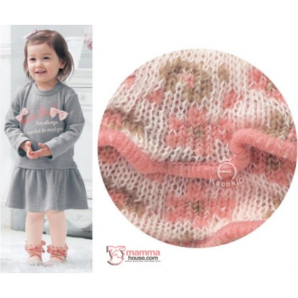 Baby Hose - Korean Knitted Opening Flora (2 colors)