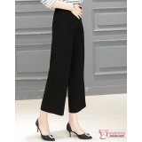Maternity Long Pants - Trumpet Pants Black