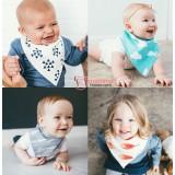 Baby Bibs - 4 pcs Set (3 different design)