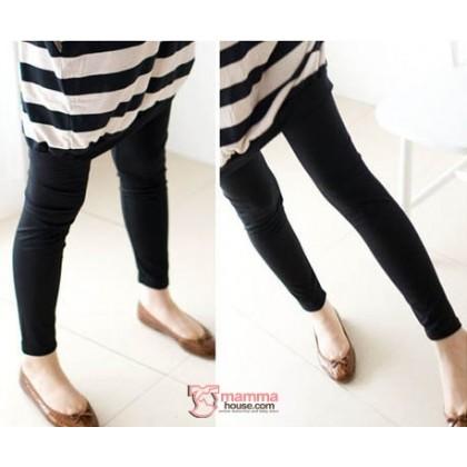 Long Legging - Long Smooth Black