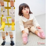Baby Socks - Korean Velvet (4 design)