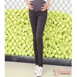 Maternity Pants - Working Knitted Grey