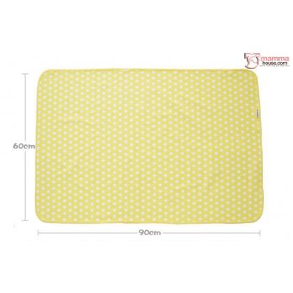 Baby waterproof mat - JP Flower Pink (2pcs set)