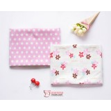 Baby waterproof mat - JP Flower Pink (2pcs set)