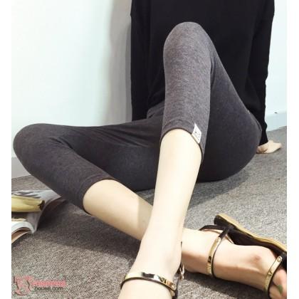 Maternity Capri Legging - Cat Dark Grey 7