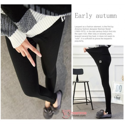 Maternity Legging - CAT Black LONG