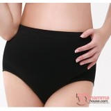 Maternity Panties - Seamless Panties Black