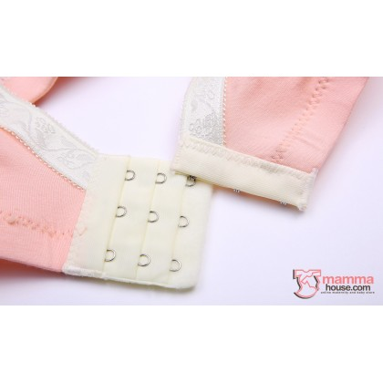 T Nursing Bra - 1 pc Smooth Orange Pink