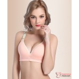T Nursing Bra - 1 pc Smooth Pink