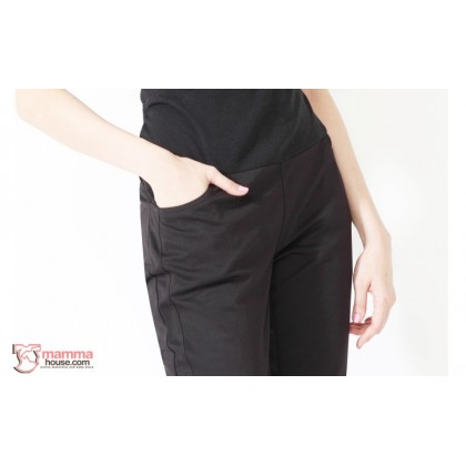 Maternity Pants - Working Side 2 Lines