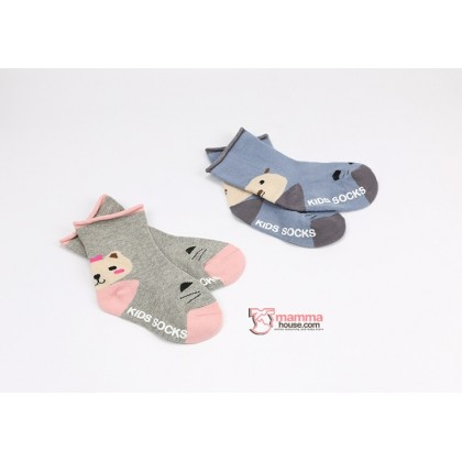 Baby Socks - Korean Back Kitten