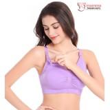 T Nursing Bra - Seamless Padded Purple Shine