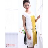 Maternity Dress - Vert Chiffon (Yellow or Pink)