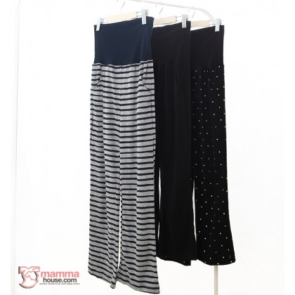 Maternity Long Pants - JP Soft Cotton (2 colors)