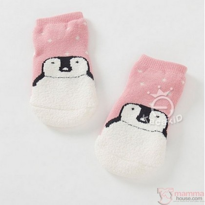 Baby Socks - Korean Snow Bear or Pengiun