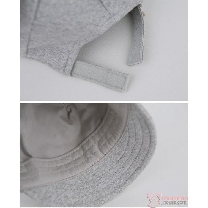d958ef621e0 Baby Hat - Korean Mice Grey Light