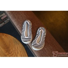 Baby Shoes - Rubber Base Stripe