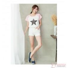 Nursing Set - Star Pink (plus baby romper)
