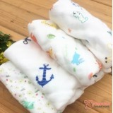 Baby Handkerchief - Thick Cotton Guaze (29x29cm)