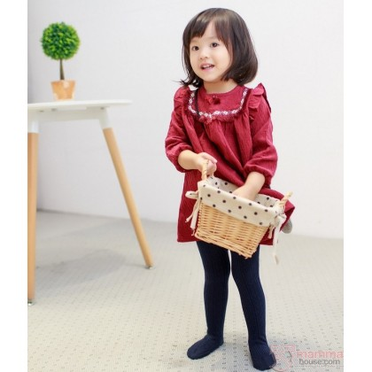 Baby Hose - Knitted Cotton Wave ( 4 colors )
