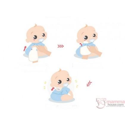 Baby Sweatbands - Penguin