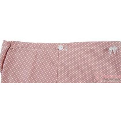 Maternity Panties - Romance Dot Pink Light