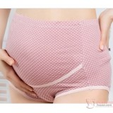 Maternity Panties - Romance Dot Pink Dark
