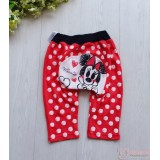 Baby Pants - Minnie Love Polka Red (size 90)