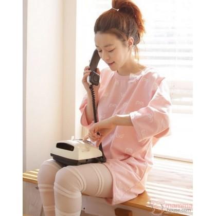 Mamma Pajamas - Long Pink Ribbon