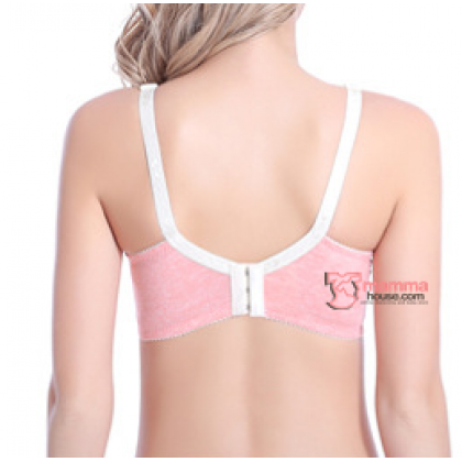 X Nursing Bra - Grace Padded Orange Pink