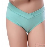 Maternity Panties - V Panties Green