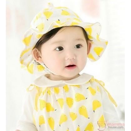 Baby Hat - Pear Yellow