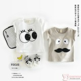 Baby Clothes - T-shirt Cute (2 design/pc)