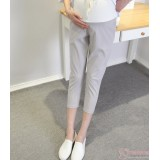 Maternity Pants - 7 Cotton Grey
