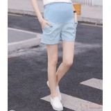 Maternity Shorts - Blue Shorts Cool