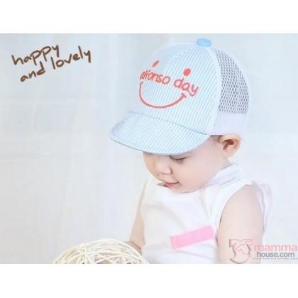 Baby Hat - Alfon Light Blue