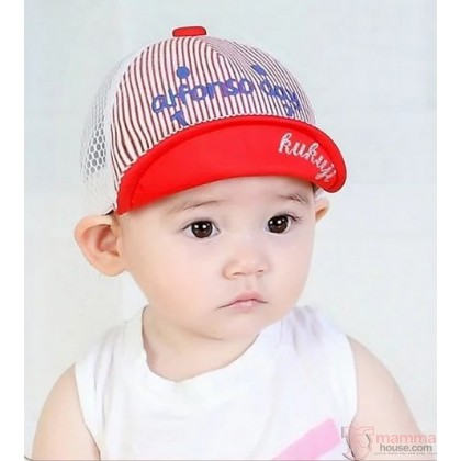 Baby Hat - Alfon Light Red