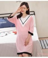 Mamma Pajamas - V Pink
