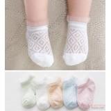 Baby Socks - Korean Mesh 5 colors (1 set)