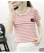 Nursing Tops - Chief Stripe Red