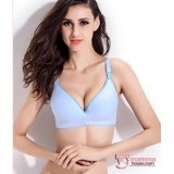 T Nursing Bra - Joy Seamless Light Blue