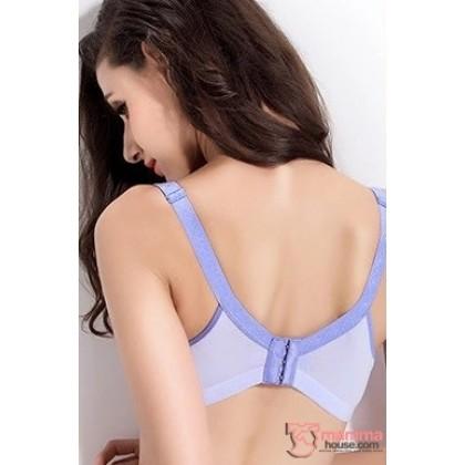 T Nursing Bra - Joy Seamless Light Blue