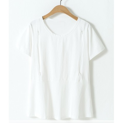 Nursing Tops - Plain White