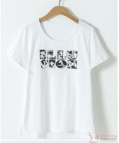 Nursing Tops - ILLU White