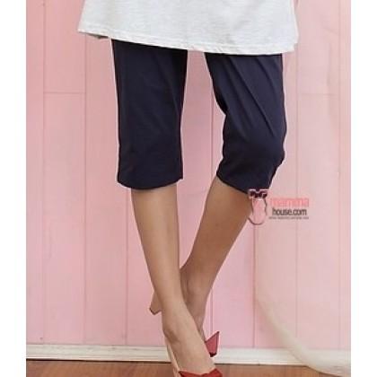 7 Maternity Pants - 2 way Dark Blue