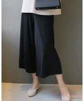 Maternity Long Pants - Long Modal Black