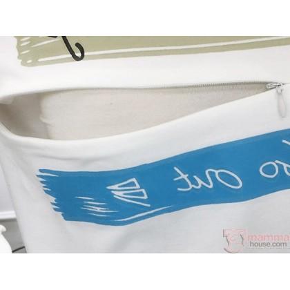 Nursing Tops - Go Out Long Blue