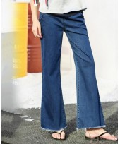 Maternity Jeans - Trumpet Trend Blue