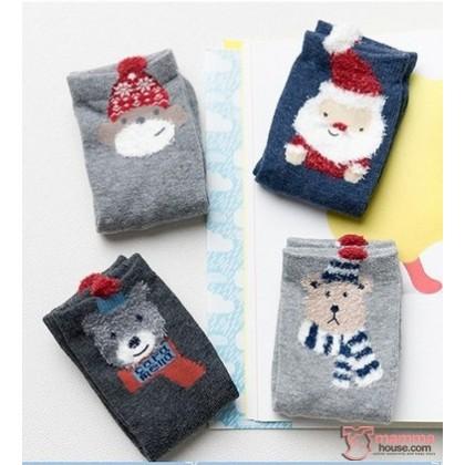 Baby Socks - Cara Box X'mas  (4 pairs)