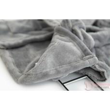 Baby Bathrobe - Ins Velvet Cute (Grey or White)